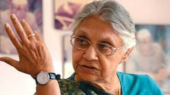 Delhi's Chief Minister 'Sheila Dixit' Passed Away At The Age Of 81