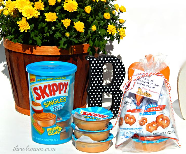 Skippy Singles Peanut Butter Gluten Free Halloween Treat Bags This
