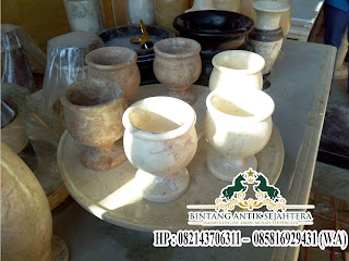 Gelas mini set Marmer Tulungagung