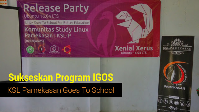 Sukseskan Program IGOS, KSL Pamekasan Goes To School