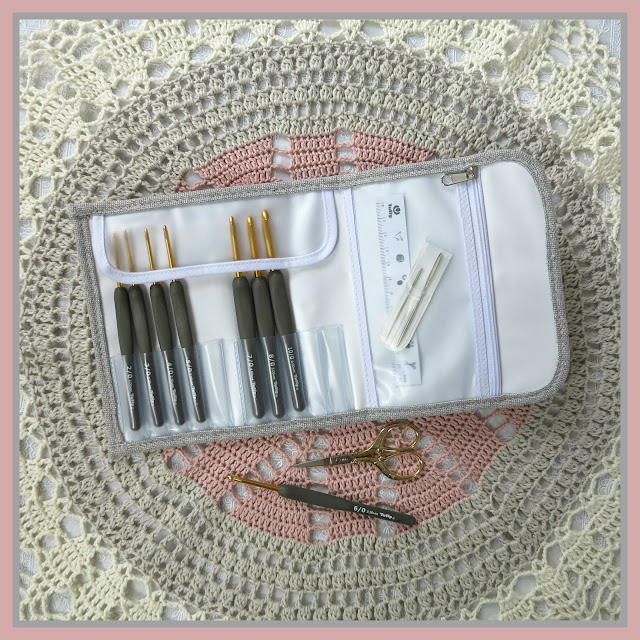 Tulip Etimo, crochet hooks, byHaafner, give-away, crochet, lace