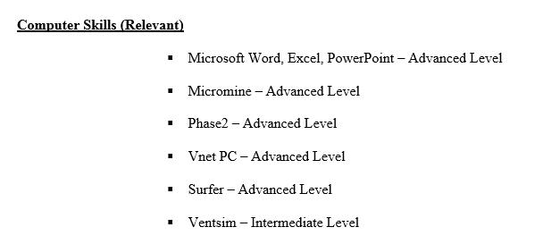 step by step cv  resume  writing  step 3