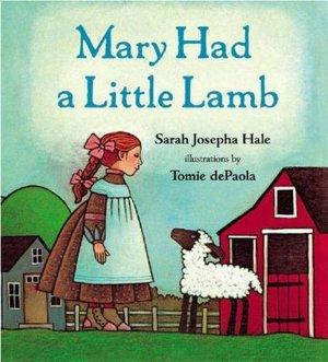 Inkspired Musings Mary Had A Little Lamb Nursery Rhyme Fun