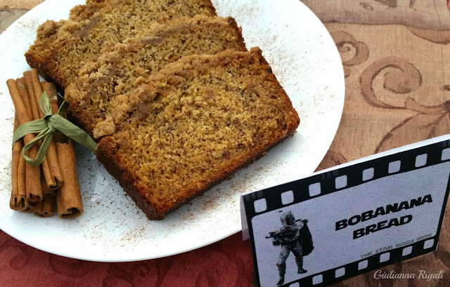 Bobanana Bread - Star Wars Boba Fett's Favorite Banana Bread