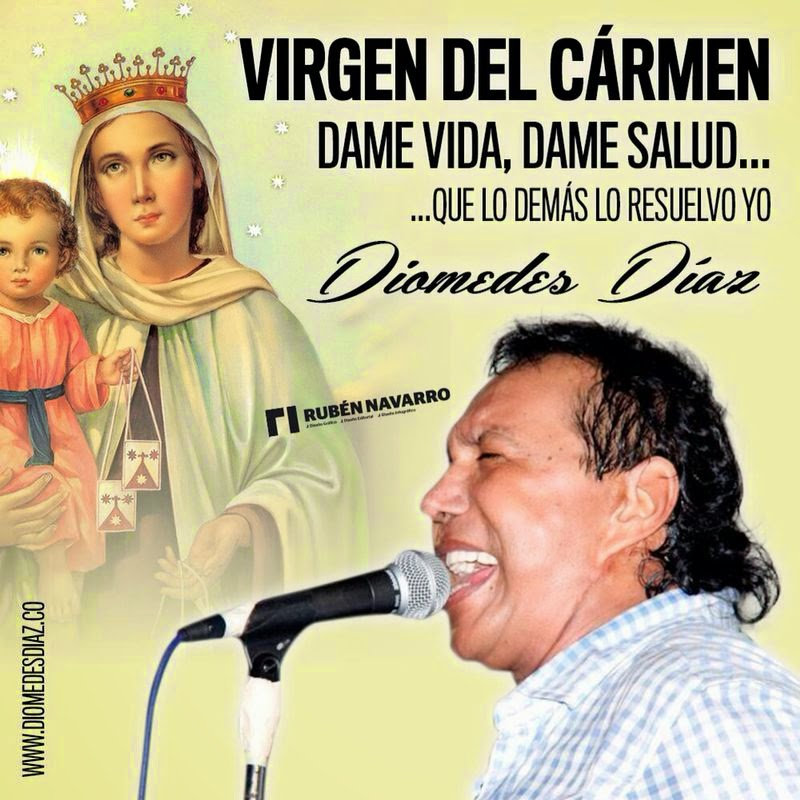 Virgen Del Carmen Dame Vida Dame Salud Que Lo Demás Lo