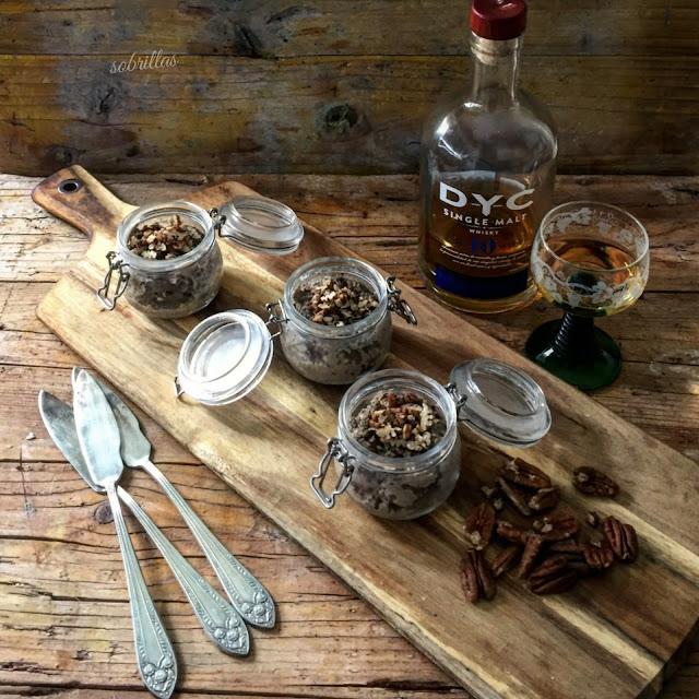 Paté De Pollo Con Nueces Y Whisky