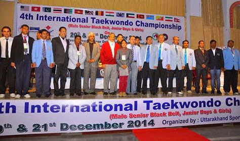 4th  International Taekwondo Championship, Inauguration at Pestle Weed College, Dehradun, Taekwondo, Martial Arts, Fitness, Tkd, Championships, Training, Classes, Coaching, Self-defence, Girls, Women, Safety, Fitness,  Mohali, SAS Nagar, near Chandigarh, Punjab, India, Shere, Lions, Videos, Movies, Master, Er. Satpal Singh Rehal, Rehal, Academy, Association, Federation, Clubs, Satpal Rehal, Korean Judo Karate, Chandigarh, Reiki, Healing, Kot Maira, Garhshankar, Hoshiarpur, Jalandhar, Amritsar, Patiala, Mansa, Ludhiana, Ferozepur, Sangrur, Moga, Pathankot, Gurdaspur, Barnala, Nawanshahar, Ropar, Ajitgarh, Fatehgarh Sahib, Taran Taran, Patti, Faridkot, Winners, Medal Ceremony, Chief Guest, TAP, PTA, Grandmaster, Reiki, TFI, Jimmy R Jagtiani, Lucknow, School, Games,