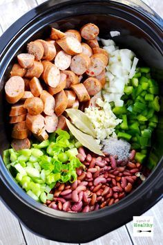 Red Beans and Rice in the Slow Cooker #recipes #thingstocookforsupper #food #foodporn #healthy #yummy #instafood #foodie #delicious #dinner #breakfast #dessert #yum #lunch #vegan #cake #eatclean #homemade #diet #healthyfood #cleaneating #foodstagram