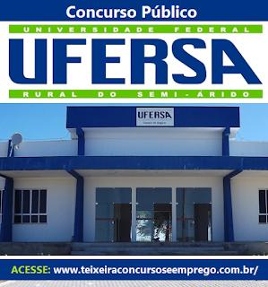 Apostila Concurso UFERSA RN 2016, Assistente Administrativo e Assistente de Alunos.