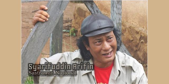 Sastrawan Nasional, Syarifuddin Arifin
