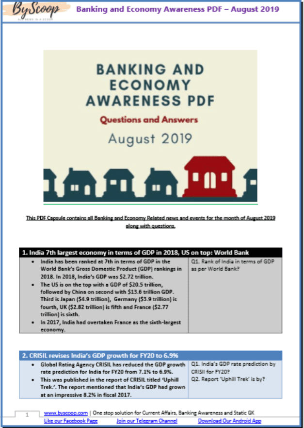 Banking-and-Economy-Awareness-August-2019-PDF-Book