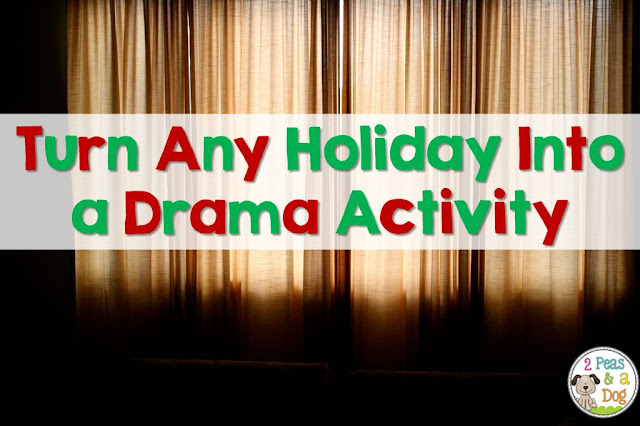 Celebrate the holidays in the middle and secondary years by turning them into a skit or class play.