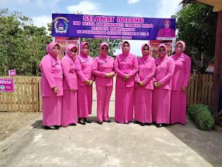 Kunker Ketua Bhayangkari Cabang Wajo Serta Silaturrahim di Polsek Gilireng