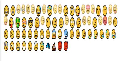 تجميعية جديدة من الرموز التعبيرية لاستخدامها علي الفيس بوك