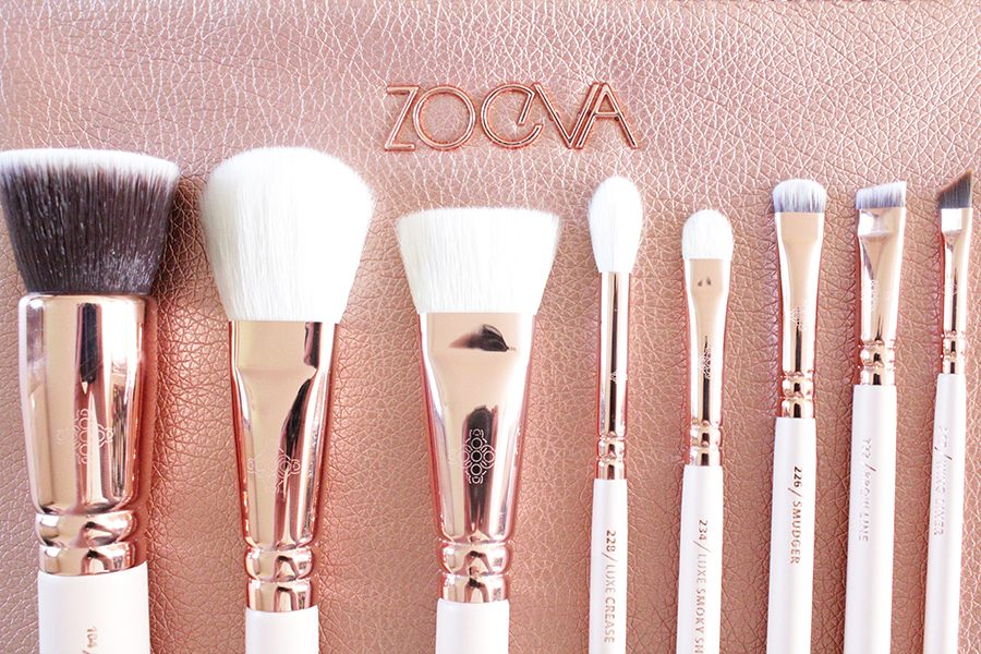 zoeva rose gold brushes
