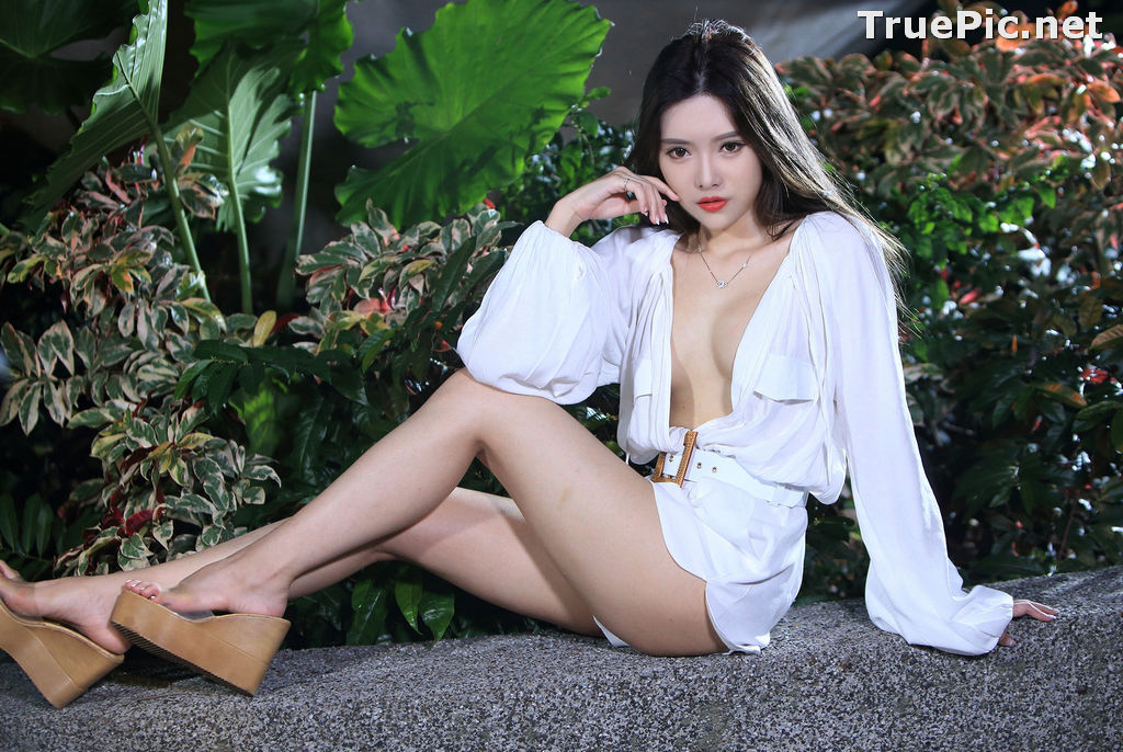 Image Taiwanese Model – 莊舒潔 (ViVi) – Sexy and Pure Baby In Night - TruePic.net - Picture-83