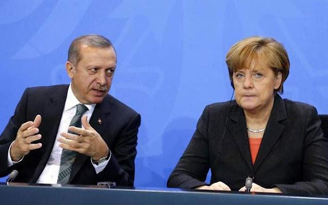 Στα χέρια της Μέρκελ η τύχη του Ερντογάν