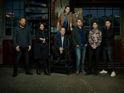 Gruppbild på rollkaraktärerna i nya Beck-filmerna.