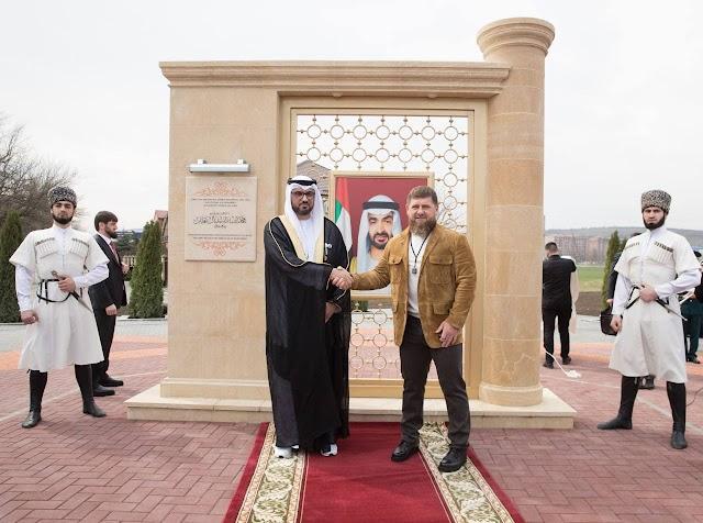 Chechnya President recognizes noble values of Sheikh Mohammed bin Zayed