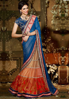 Indian-stylish-crepe-lehenga-silk-sarees-to-keep-you-fashionable-4