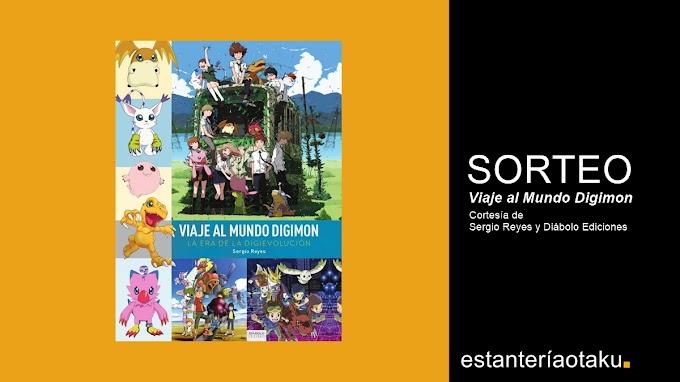 Sorteamos en Twitter un ejemplar de 'Viaje al Mundo Digimon' de Sergio Reyes