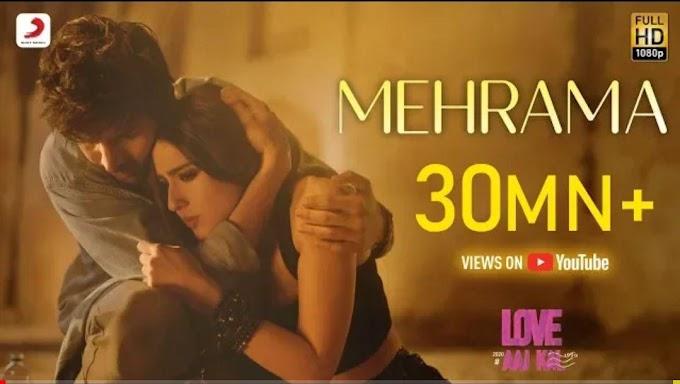 Mehrama Lyrics | Love Aaj Kal | Darshan Raval, Antara Mitra | Pritam | Irshad K | Kartik, Sara
