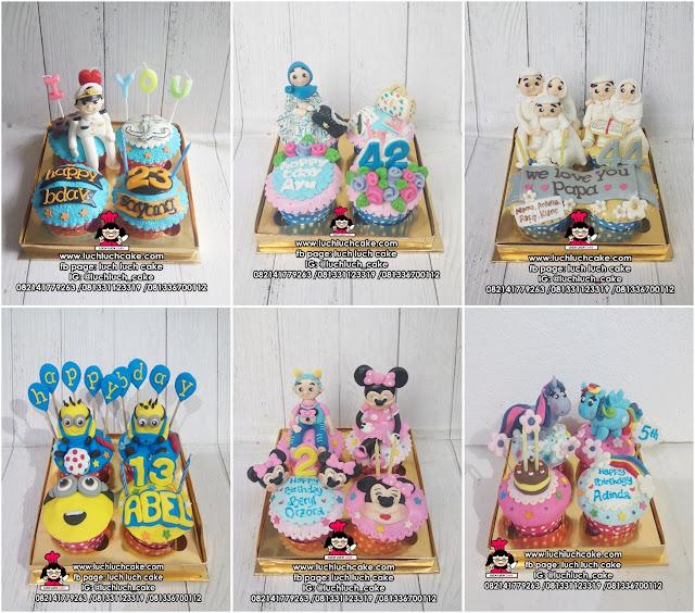 Cupcake Fondant 3d
