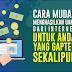 Panduan Mudah Menghasilkan Uang dari Internet Meski Anda Gaptek