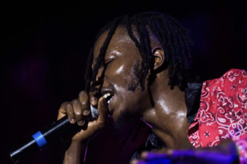 Watch How Naira Marley Thrill Fans At Afronations Before Marlian Fest