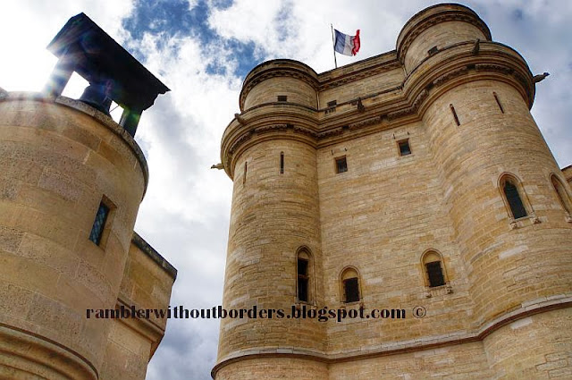 Bell Tower and the Keep, Vincennes Castle, Paris, France