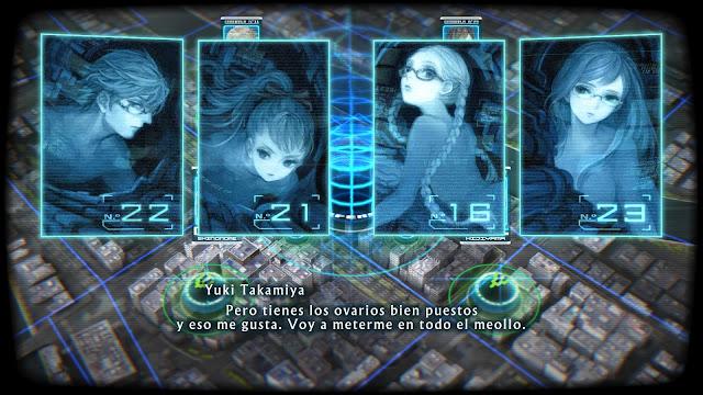 Ánalisis 13 Sentinels: Aegis Rim  para PS4 conversación en combate