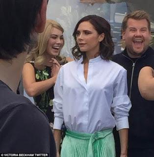 Victoria Beckham sings on Carpool Karaoke