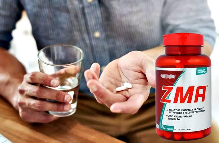información sobre los beneficios y efectos secundarios de tomar suplementos de ZMA en la dieta