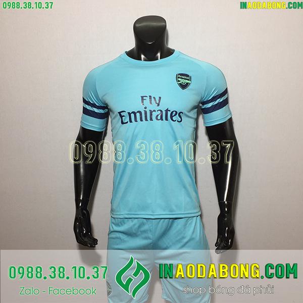 Áo bóng đá câu lạc bộ Arsenal  màu xanh