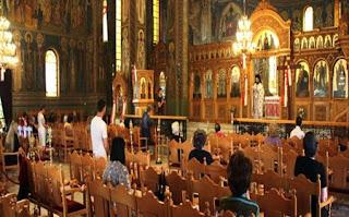 Κανονικά λειτούργησαν οι εκκλησίες με αποστάσεις και ευλάβεια