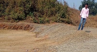 खांबाळा शिरळी रस्त्याची दुरावस्था