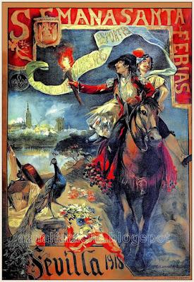 Sevilla - Semana Santa y Ferias 1918 - Alfonso Cañaveral Pérez y Antonio García Lozano