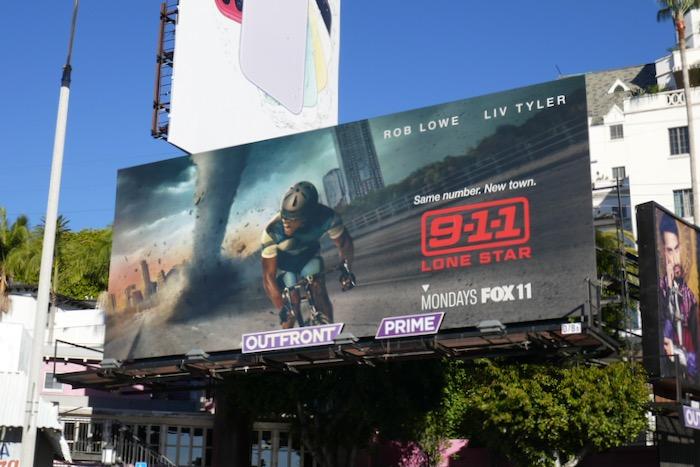911 Lone Star series premiere billboard