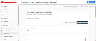 Cara Memperbaiki Error Data-Vocabulary.org Schema Deprecated Di Blog