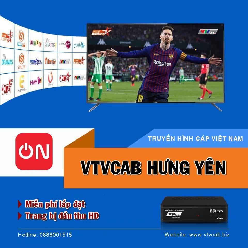 VTVCab Hưng Yên - Tổng đài lắp truyền hình cáp + Internet Giá Rẻ