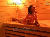 Дитина Руська лазня русская баня ребенок