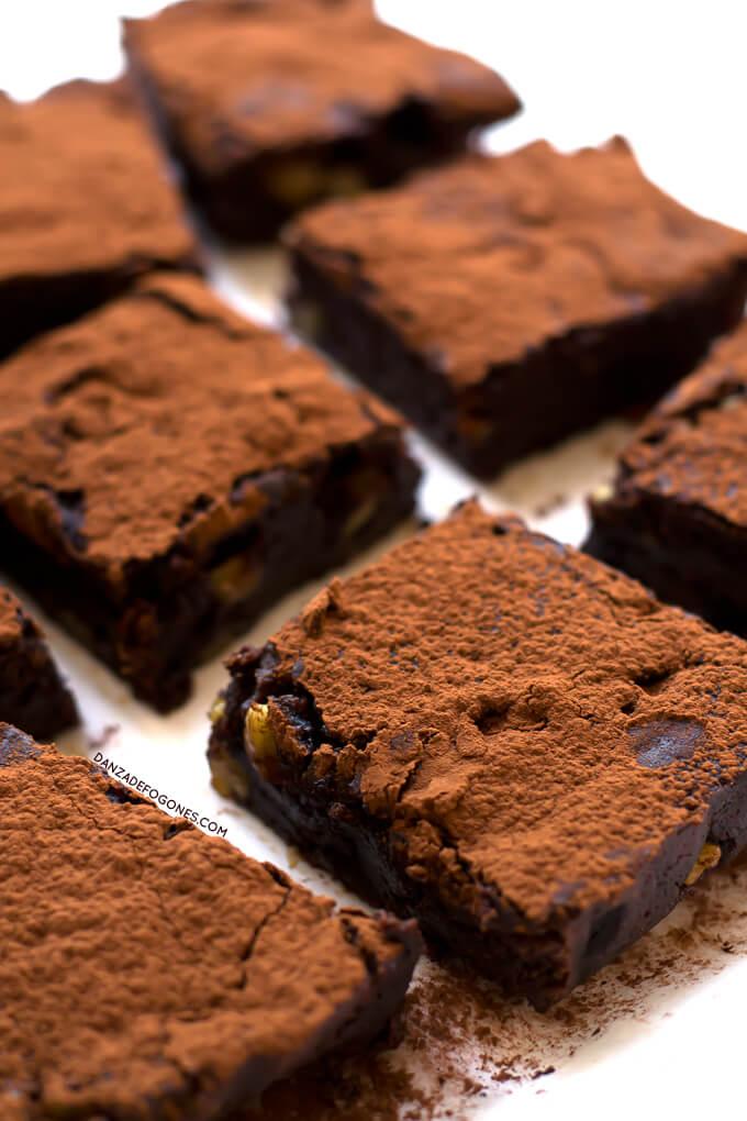 Vegan Gluten-Free Brownie | danceofstoves.com