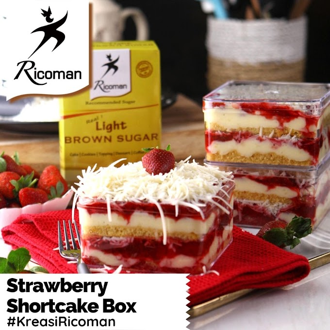 [RESEP] Strawberry Shortcake Dessert Box