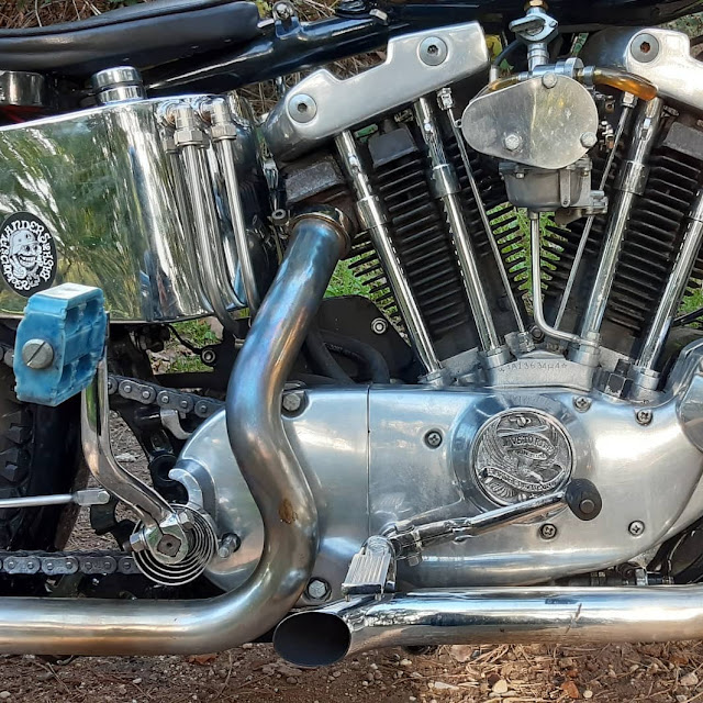 Harley Davidson Shovelhead By Roll Without Control Hell Kustom