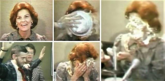 14 OTTOBRE 1977: L'OMOFOBA ANITA BRYANT RICEVEVA UNA TORTA IN FACCIA (VIDEO)