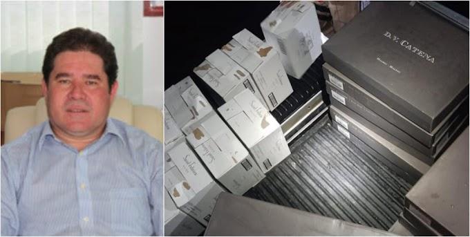 Ex-prefeito de Barracão é detido com 30 caixas de vinho na fronteira com a Argentina