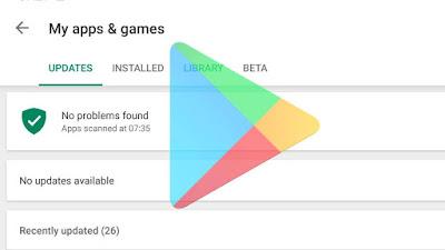 Mengatasi Unduhan Pending Error Di Play Store