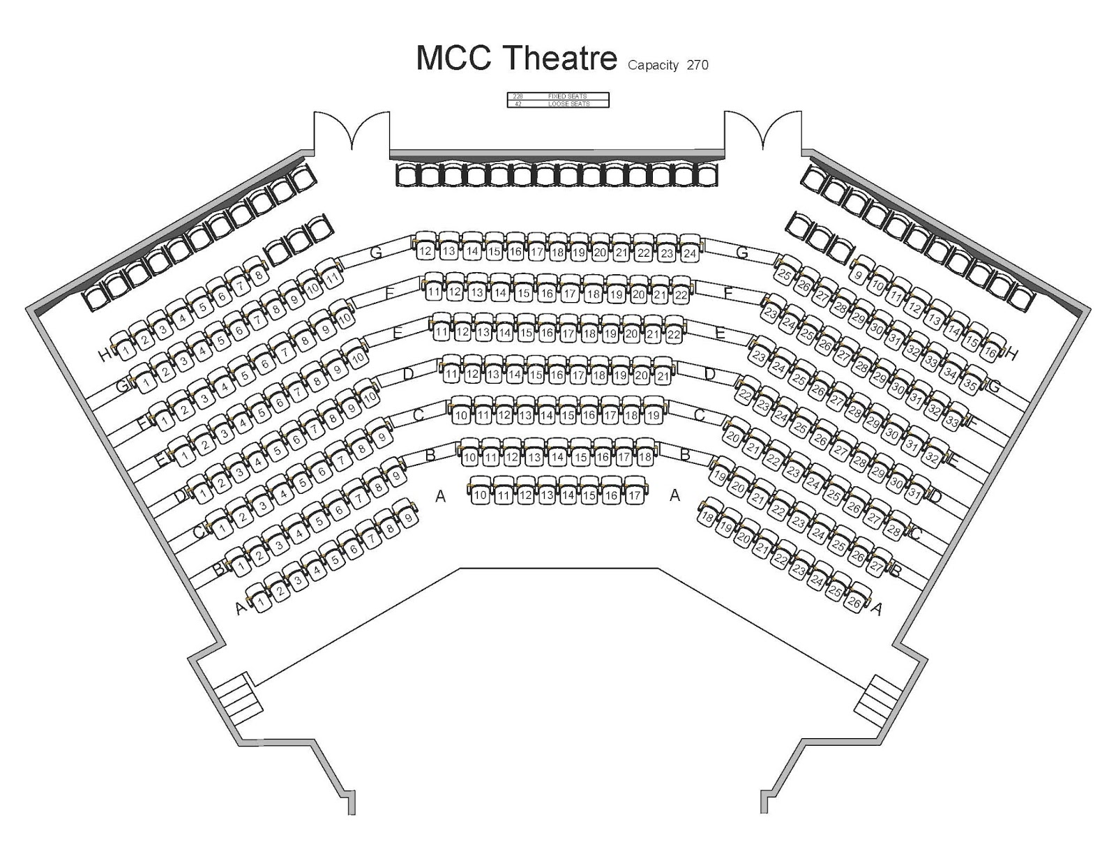 Mahaffey Theater Seating Chart