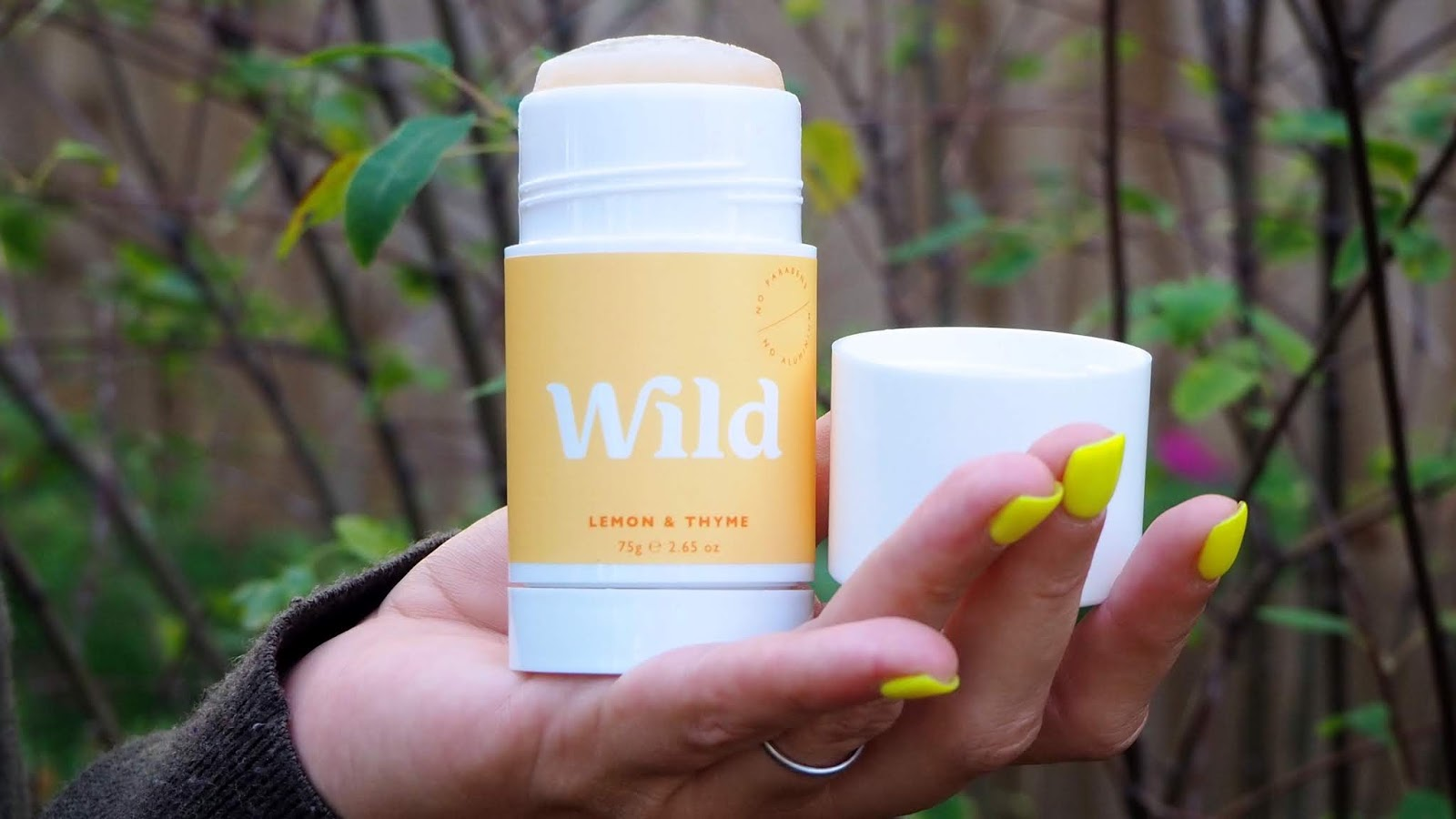 Lemon & Thyme Natural Deodorant
