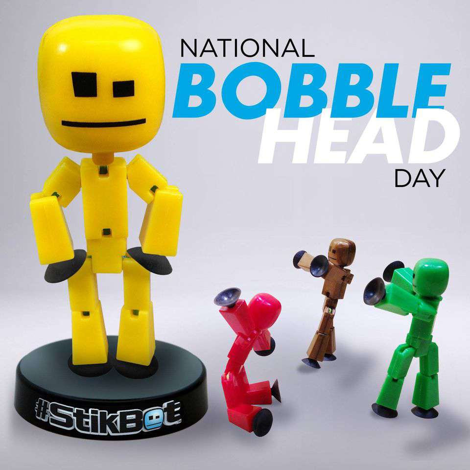 National Bobblehead Day Wishes Pics